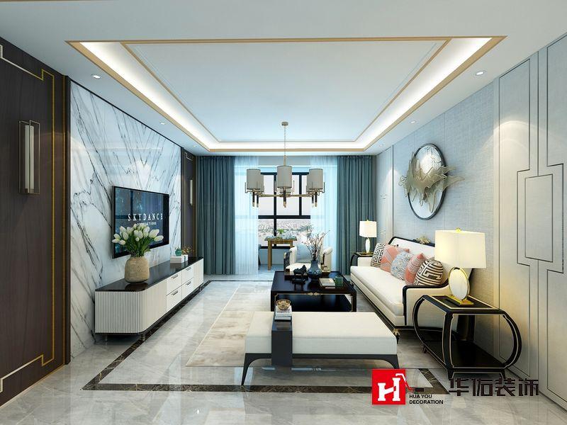 大同星际荣域142m²三室两厅装修样板间